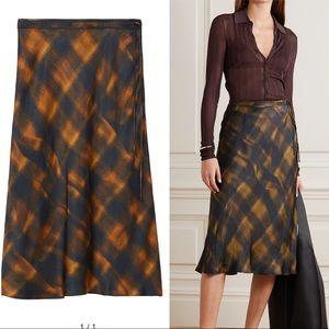 Proenza Schouler Charmeuse Midi Skirt